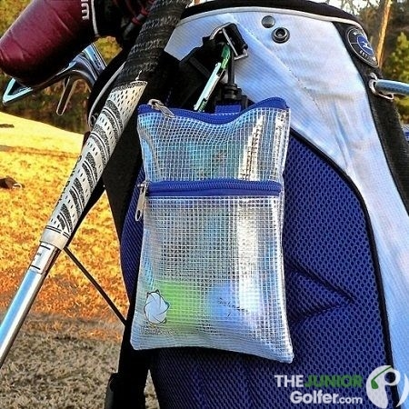 Blue Golf Pouch Bag thegolfpouch