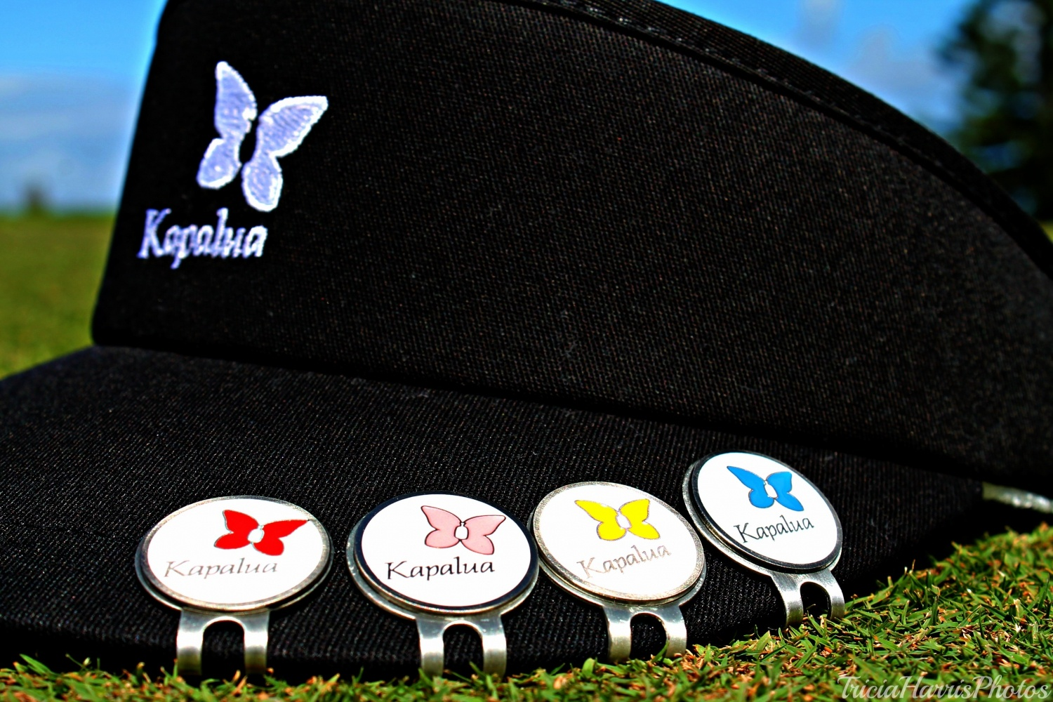 Kapalua golf hat clip ball marker