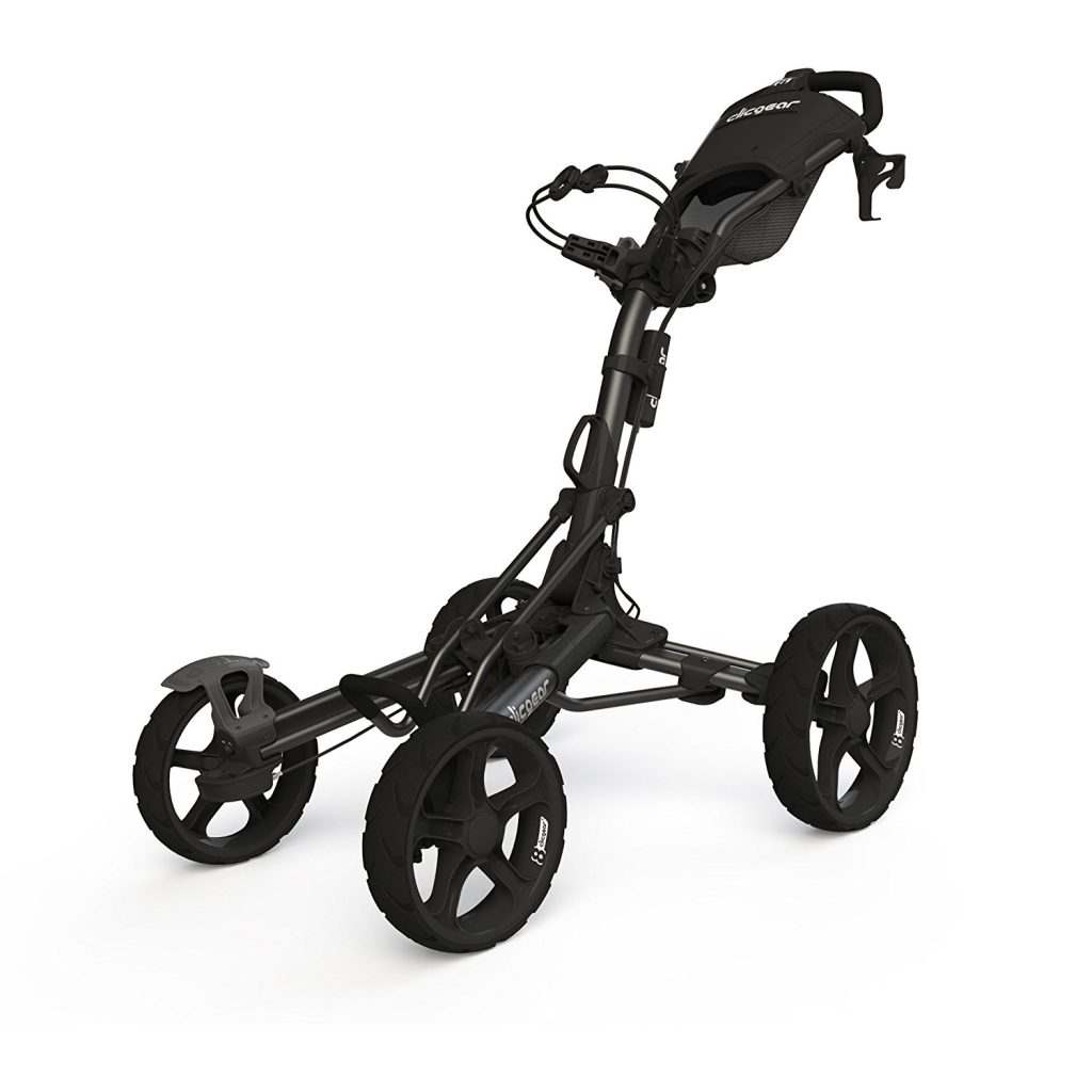 golf push cart for junior golfer, clicgear 8