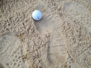Tournament Stroke Saving Tips bunker penalties