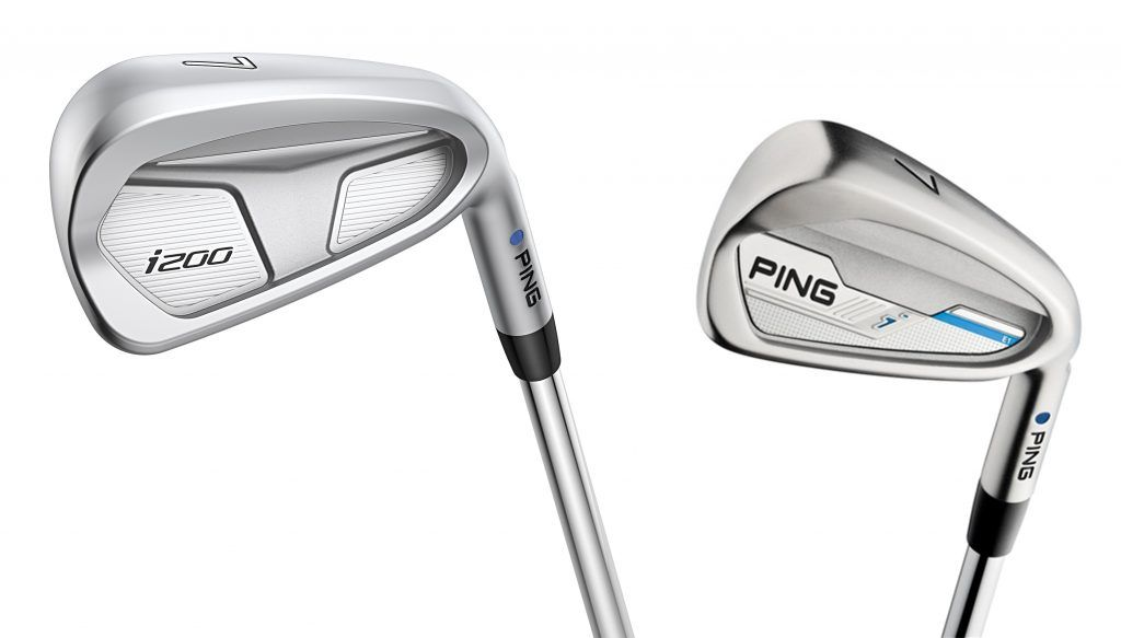 Ping i200 and i irons for junior golf club fitting