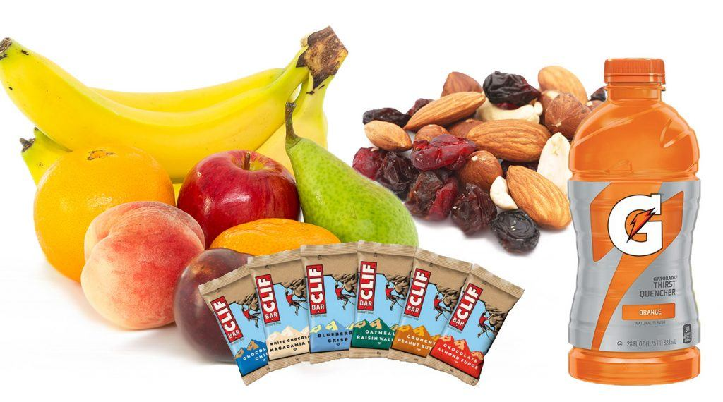 healthy golf snacks for junior golf tournament nutrition