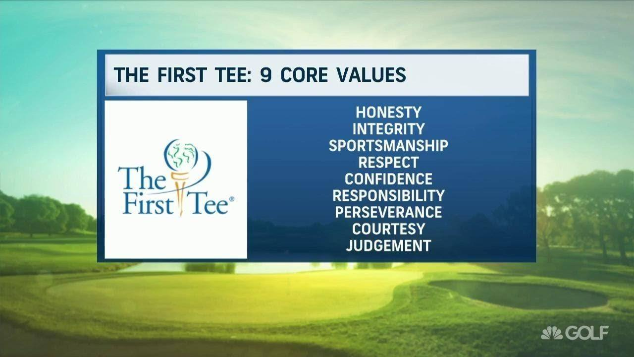the first tee 9 core values - golf etiquette for juniors