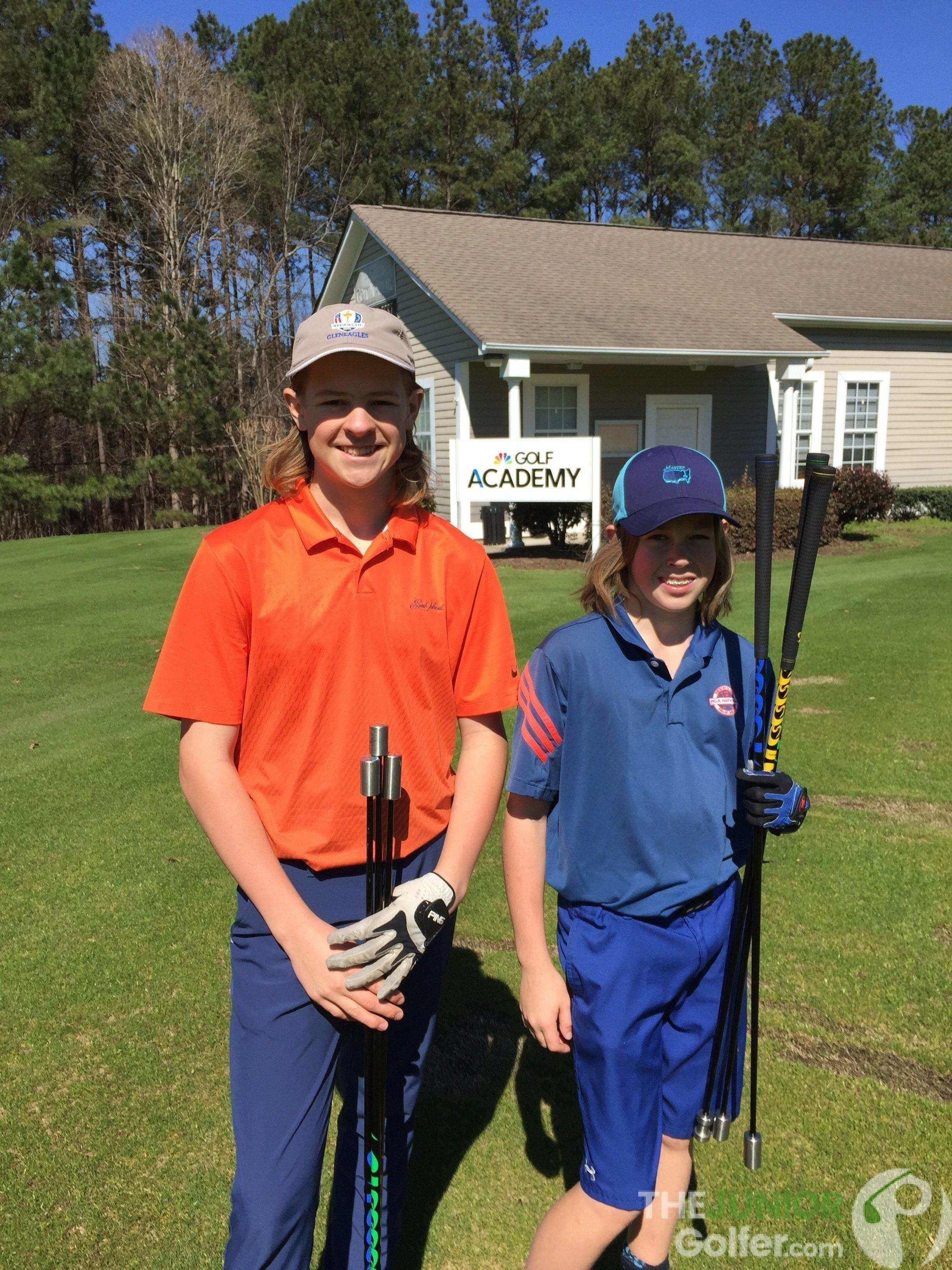 Superspeed training for junior golfers