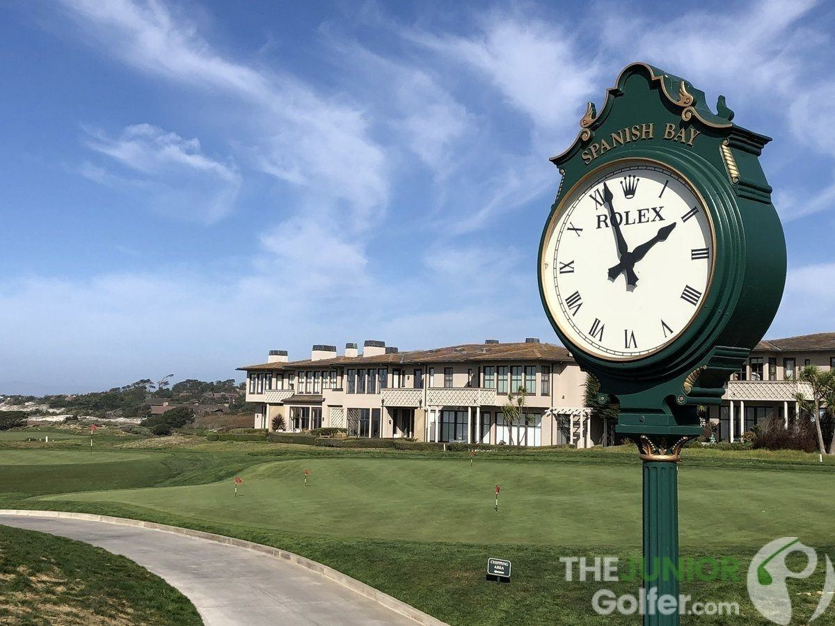 golf clock slow play rolex