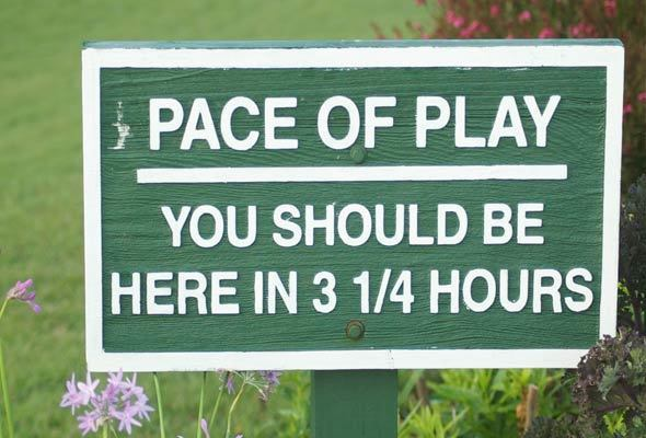 pace of play junior golf