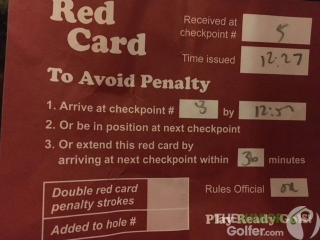ajga red card, first ajga tournament, ajga advice