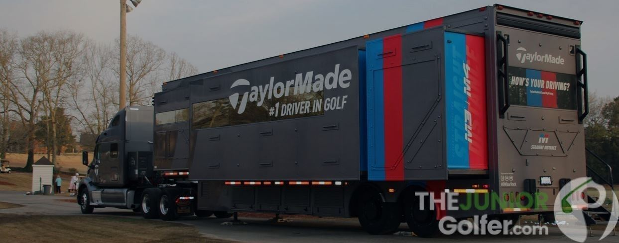 Taylormade tour truck at AJGA Chateau Elan