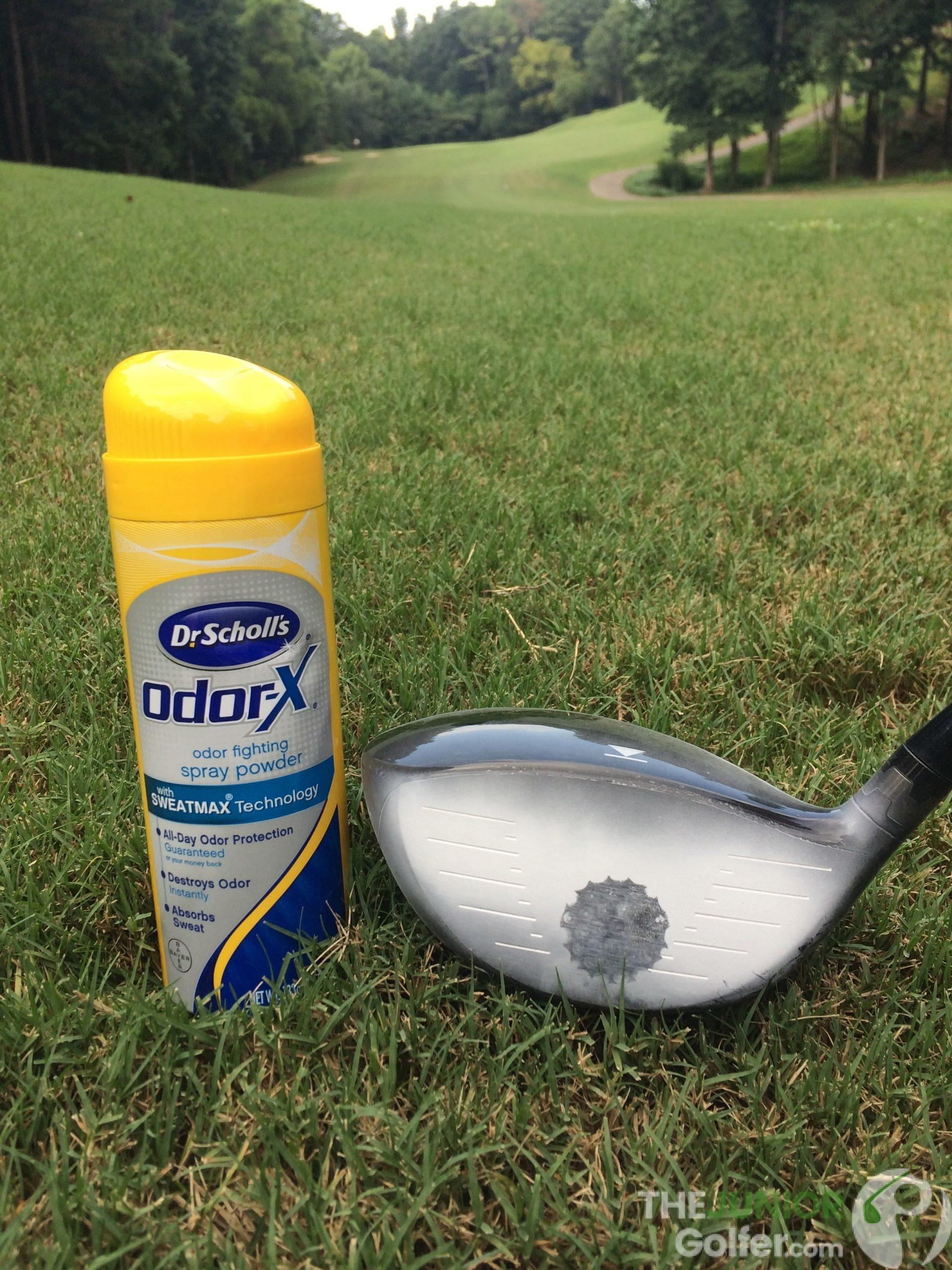 Dr Scholls footspray best golf training aid juniors DIY