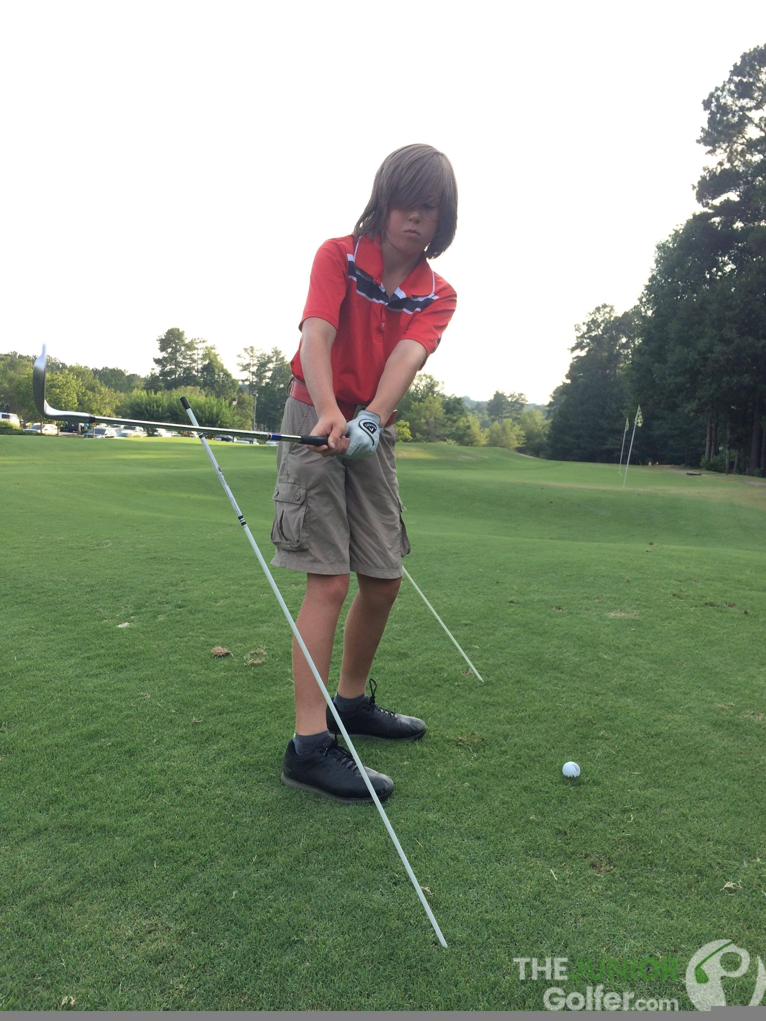 junior golf alignment sticks