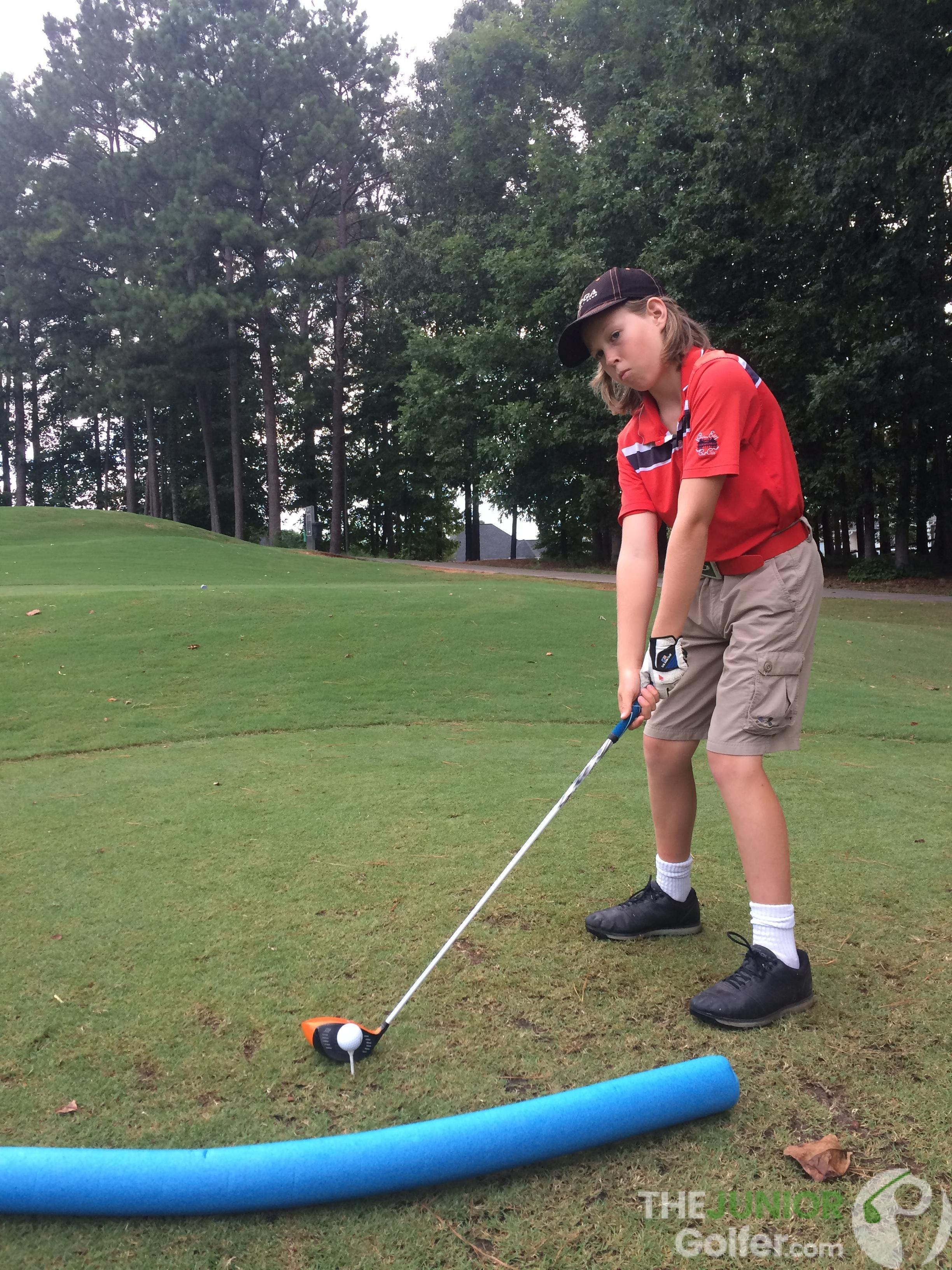 best diy golf training aids for junior golfers
