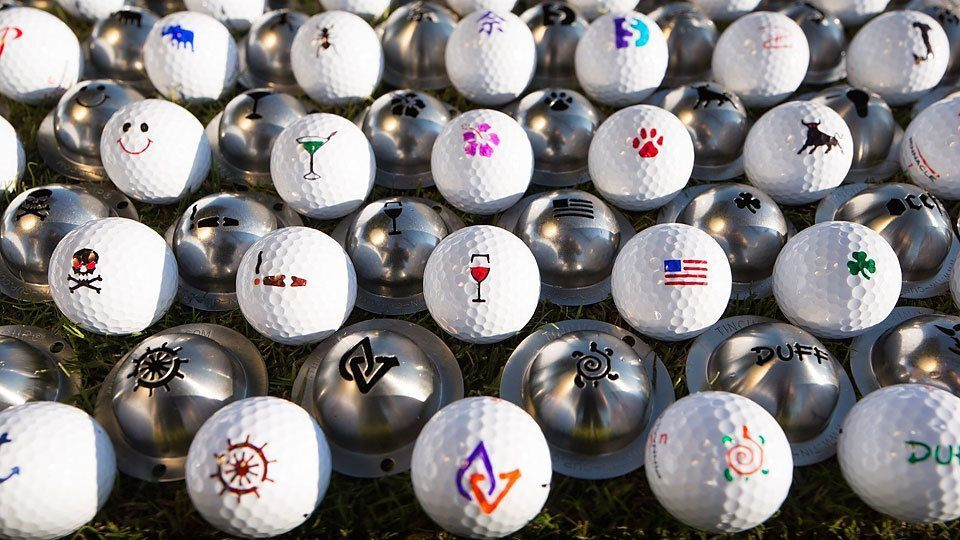 kids tin cup ball markers