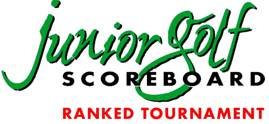 junior golf scoreboard