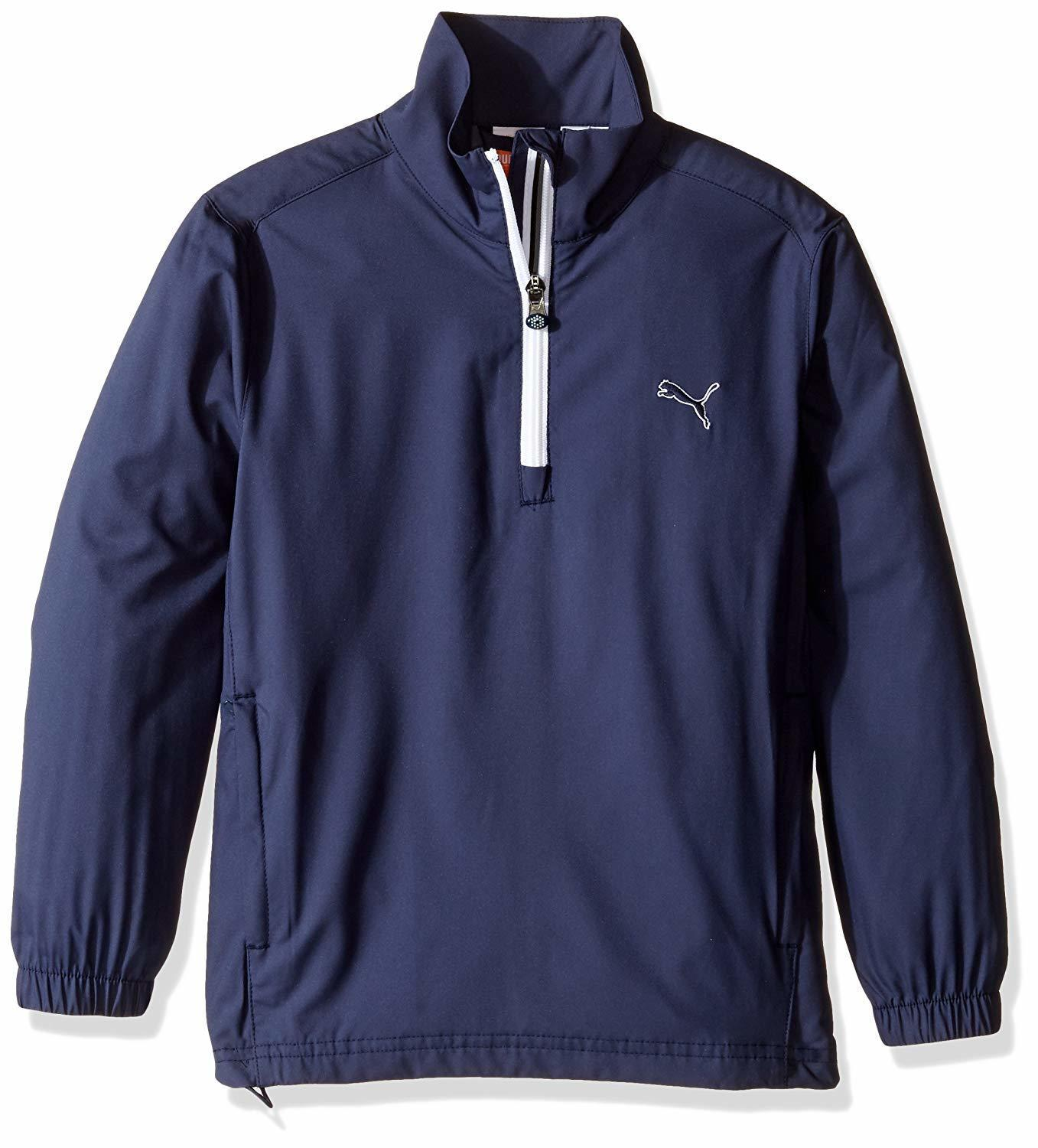 Puma kids winter golf jacket