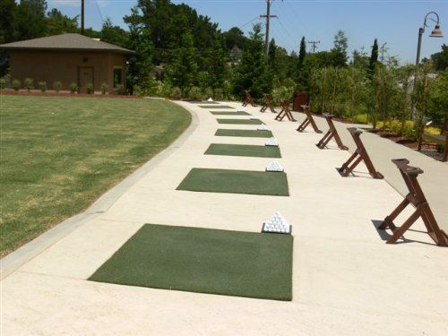 real feel home golf practice mat