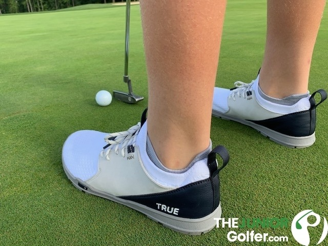 true links junior golf shoes