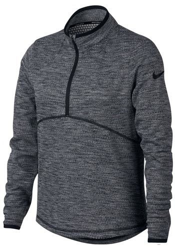 Nike New Girls DRI FIT Lighweight Half Zip Golf Pullover
