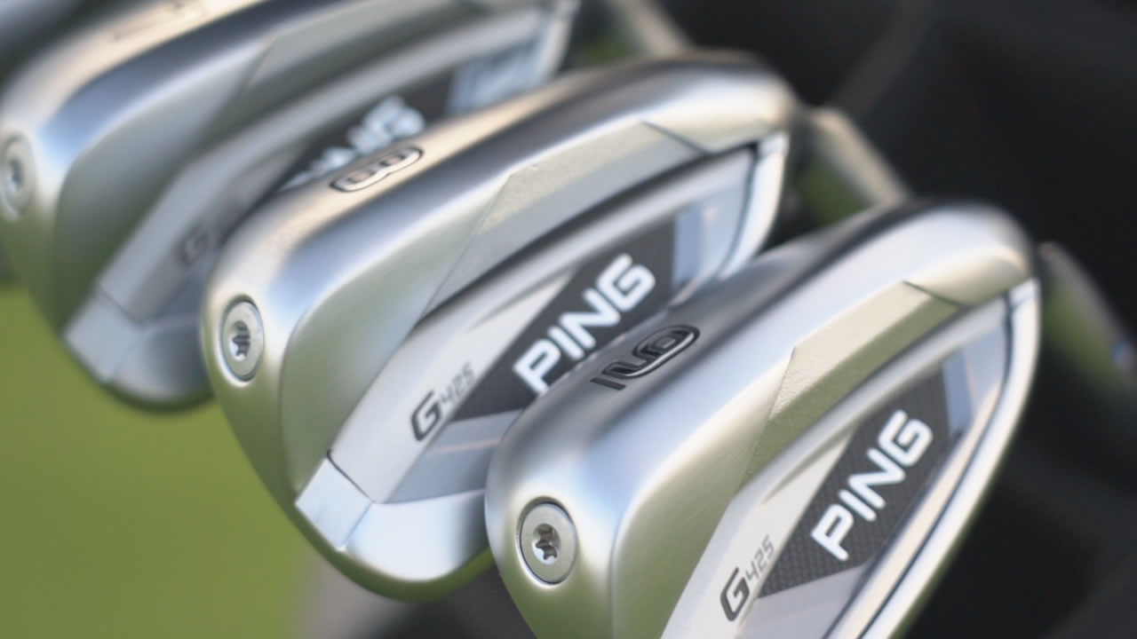 Ping G425 irons for juniors and teenage golfers
