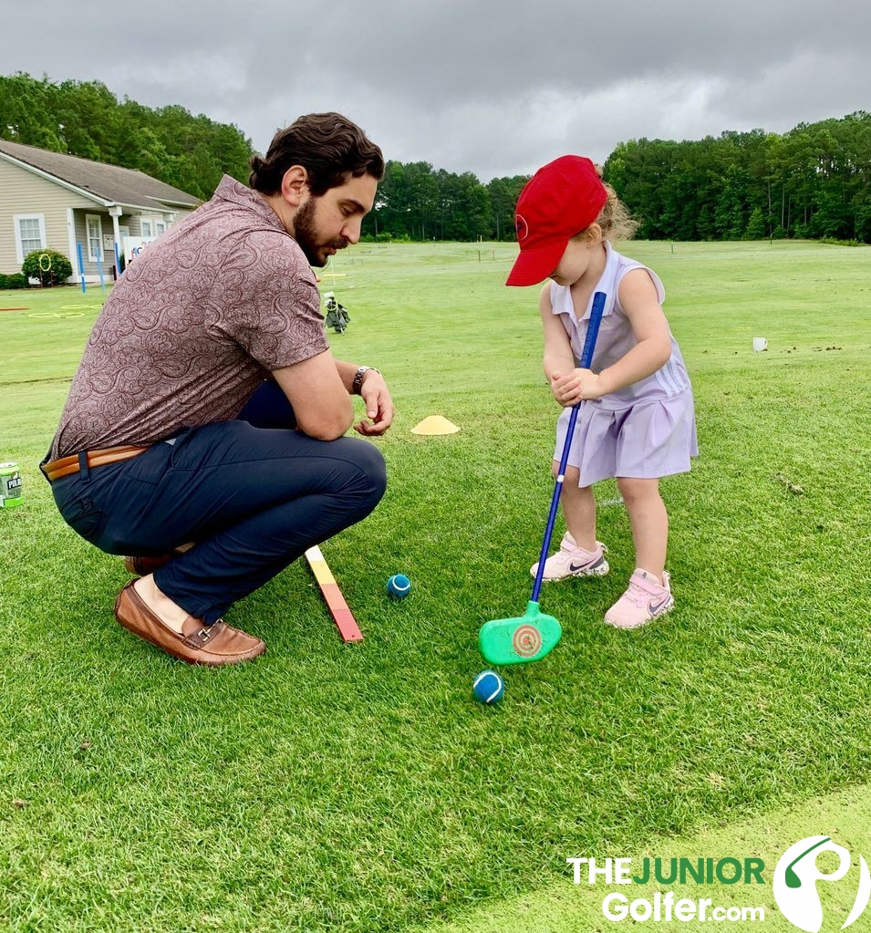 can my 3 year old play golf