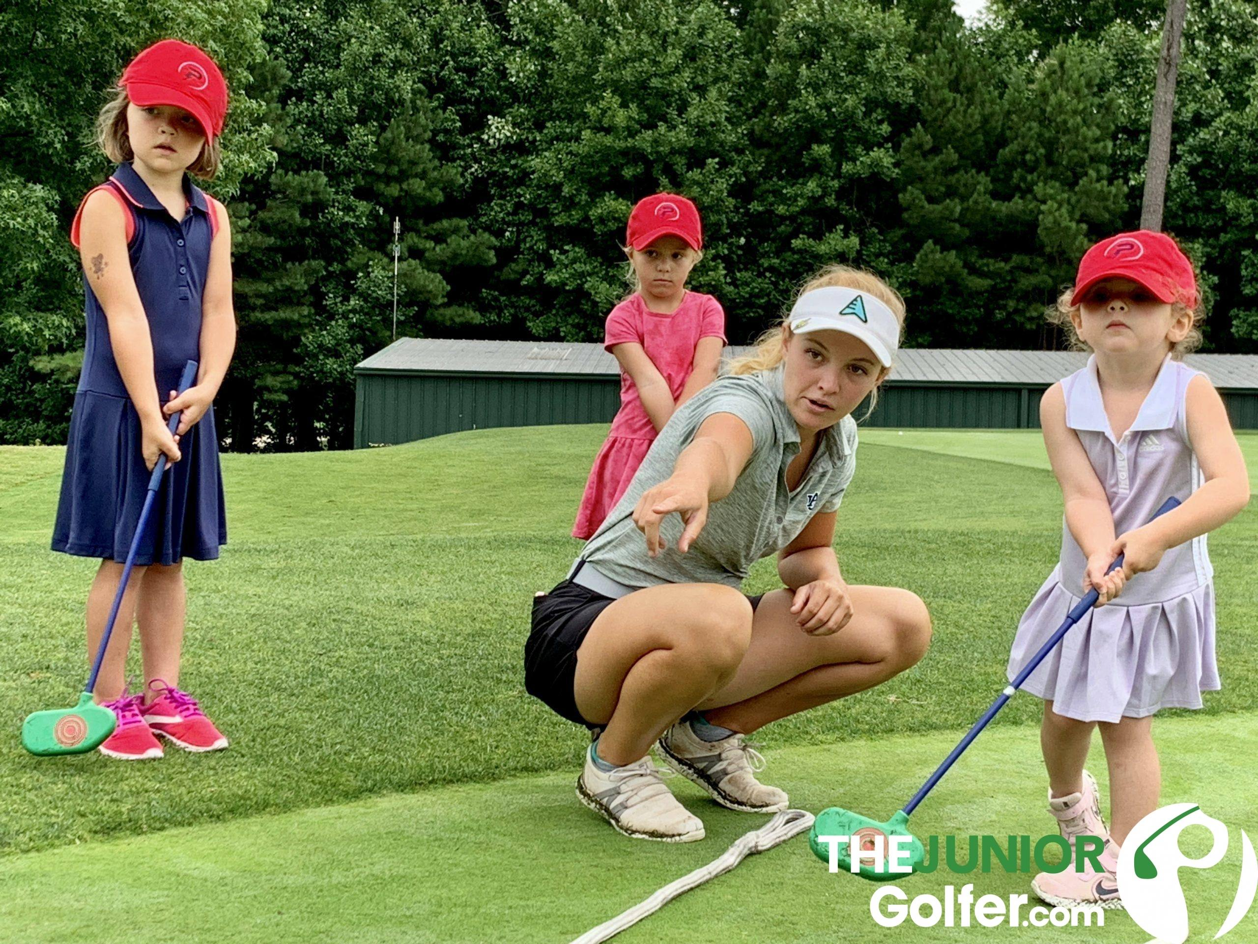 when should my kid start golf lessons