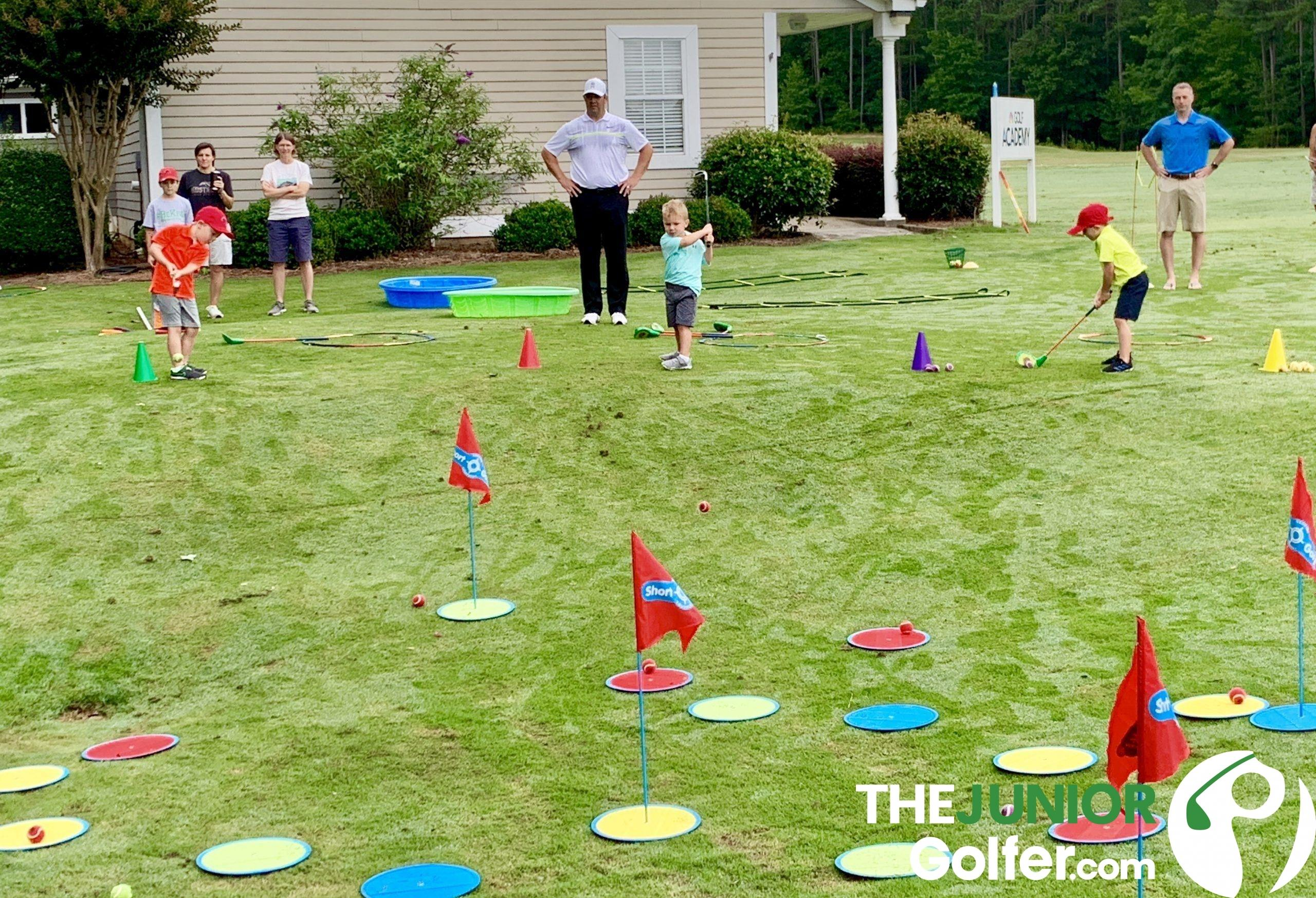 how do you teach golf to young kids