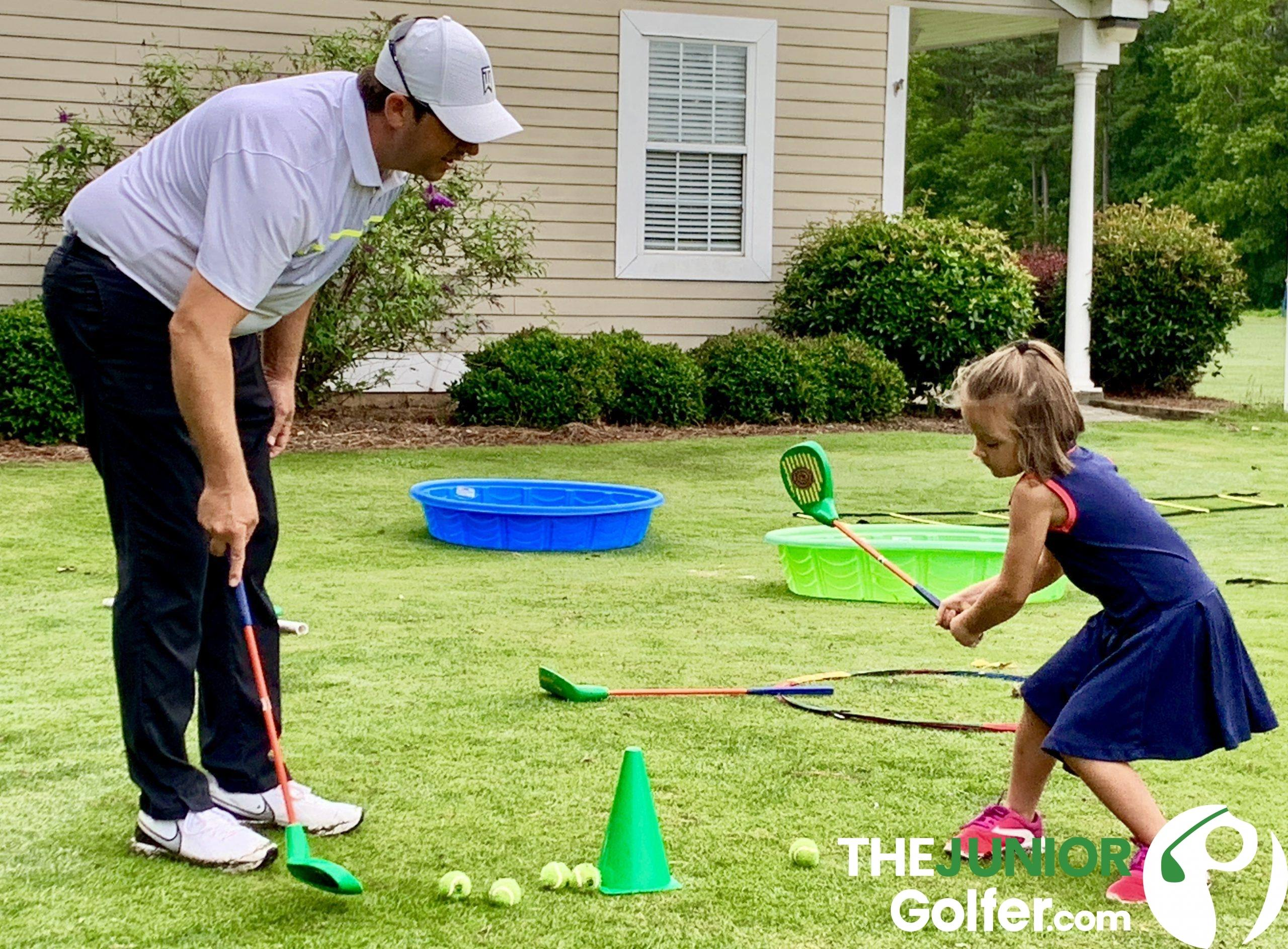 where can i find golf lessons for very young kids