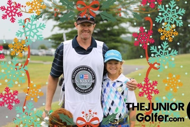 holiday gifts for caddies in junior golf